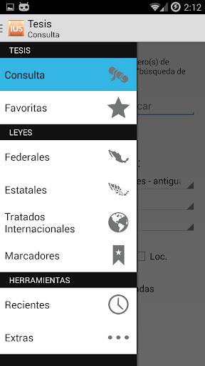 IUS - Tesis y Leyes de México