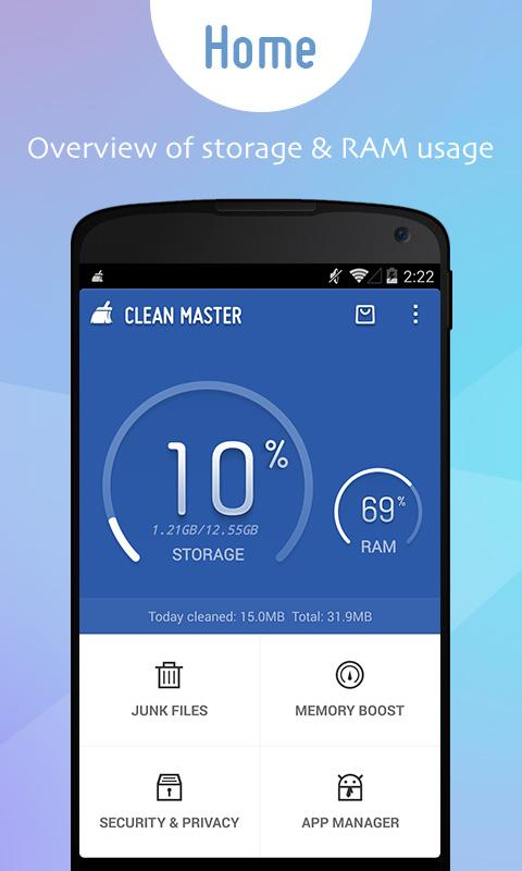 Clean master boost applock android apps on google play - Clean master optimizer apk ...