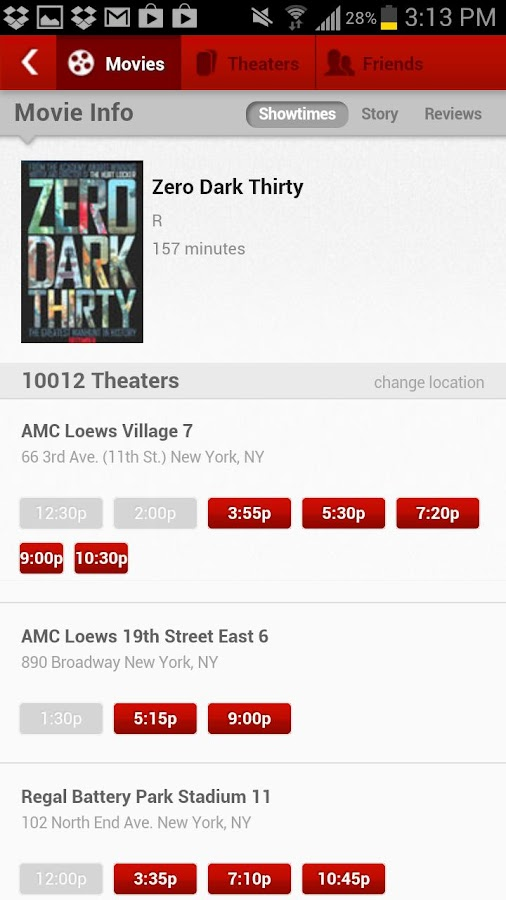 MoviePass - screenshot