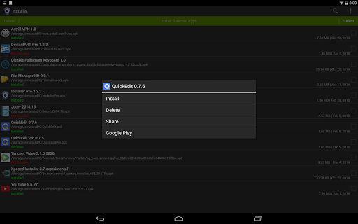 Installer - Install APK 3.4.2 screenshots 7