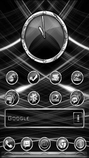 CrystalX HD Launcher Theme