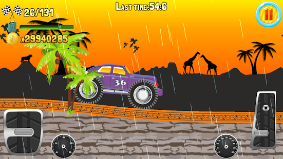 Hill Climb Truck Race screenshot 2