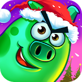 Angry Piggy Seasons APK for Bluestacks