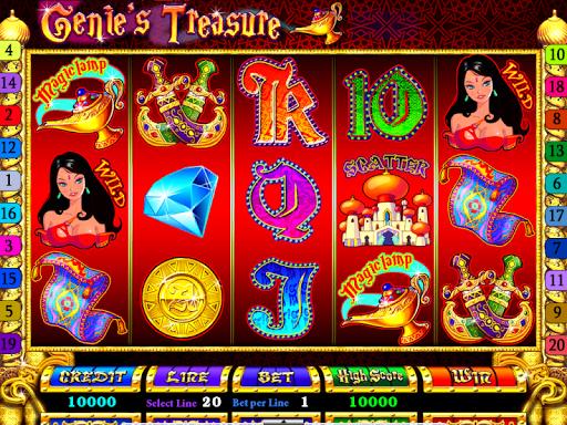 Slots - Genie's Treasure