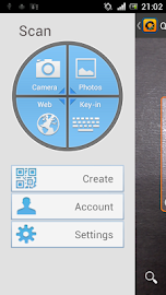QuickMark Barcode Scanner Screenshot 3