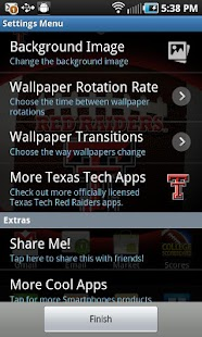 Texas Tech Revolving Wallpaper - screenshot thumbnail