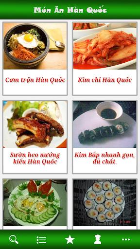 Mon An Han Quoc - Mon Ngon