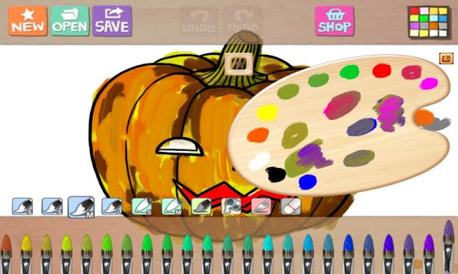 Hello Oil Painter - screenshot