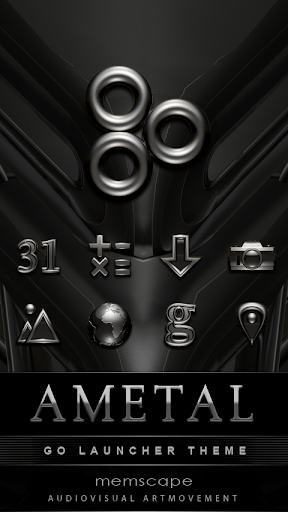 Ametal GO Theme
