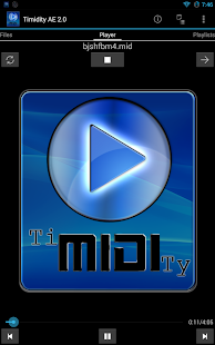 Timidity AE MIDI Player Screenshot