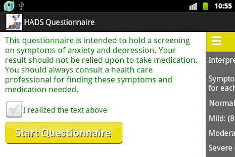 anxiety andor depressionhads apps on google play
