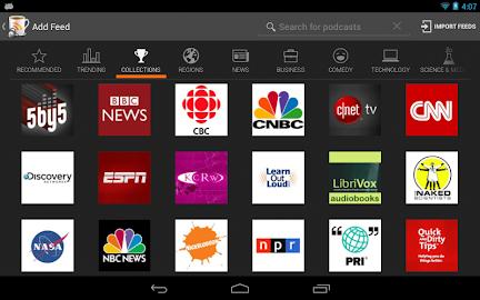BeyondPod for Tablets - Legacy Screenshot 18