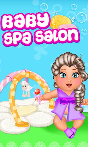 Baby Elsa Spa Salon