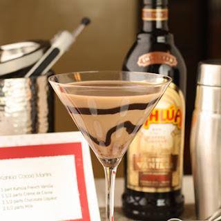 Kahlúa Cocoa Martini.