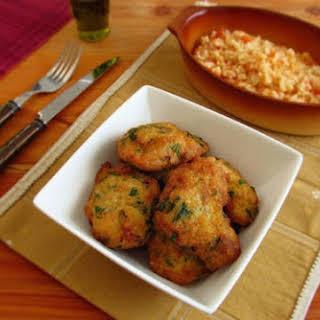 Cod 'pataniscas' (fried Cod).
