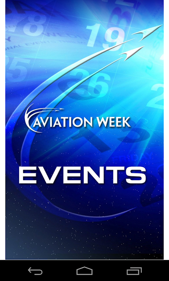 Aviation Week Events - screenshot