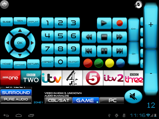 MyAV for SkyQ, Sky+HD & TV Wi-Fi Remote Cow V3.25 screenshots 3