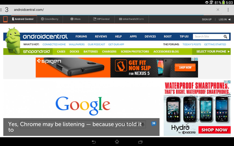 Lightning Browser - screenshot