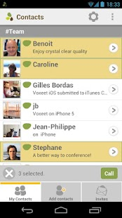 Voxeet Conferencing - screenshot thumbnail