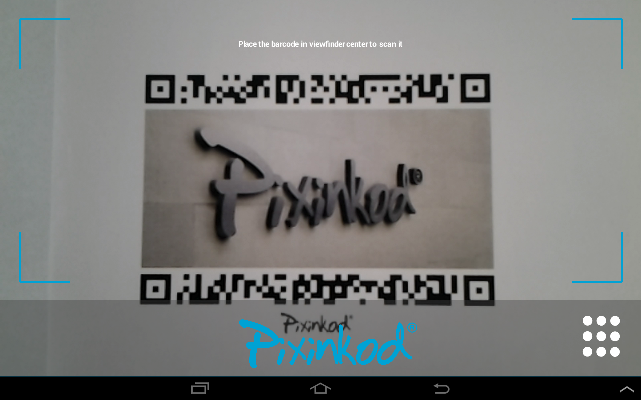Pixinkod Barcode and QR Reader - screenshot