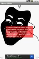 Screenshot of Frases Engraçadas
