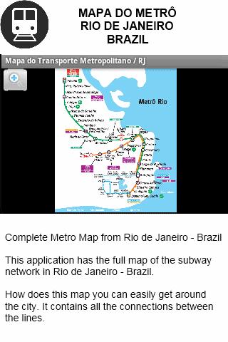 Metro Map Rio de Janeiro BR Apps on Google Play