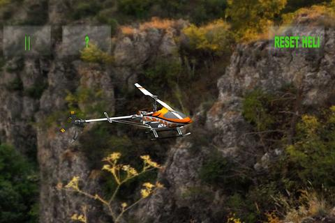 RC Helicopter Simulation - screenshot