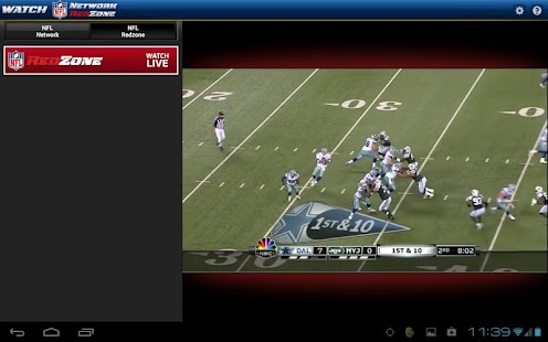 Watch NFL Network - screenshot thumbnail