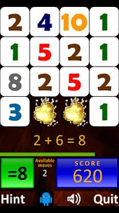 Droid Math 4 Kids Free - screenshot thumbnail