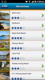 Maui-Hawai Offline Map Guide - náhled