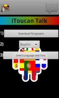 Screenshot of iToucan Talk (Autism) Alpha