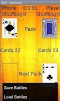 Screenshot of War Card Game