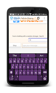 omegle talk to strangers apk