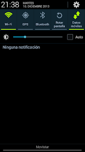 Open Notification Bar Pro Capture d'écran