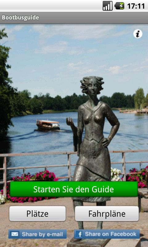 Båtbussguide (Deutsch)- screenshot