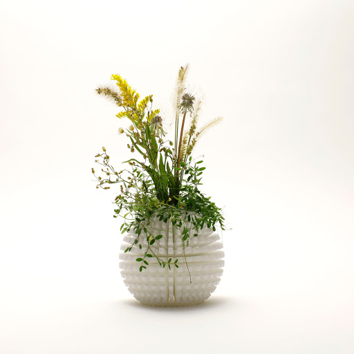 radial vase