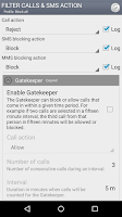 Screenshot of Call Master
