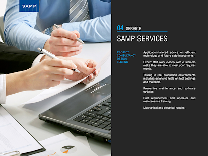 SAMP Company Profile- screenshot thumbnail