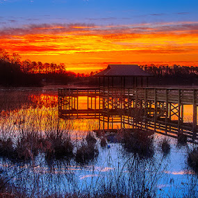 Lake Cunningham by Charles Hardin - Landscapes Waterscapes ( water, greenville county sc, lake cunningham, charles k. hardin photography, greer sc, landscape, south carolina )