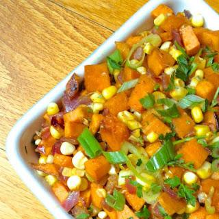 Sweet Potato and Corn Hash