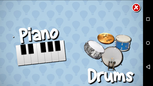 Piano + Drums for your Kids
