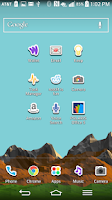 Screenshot of LGHome LG theme Stickers