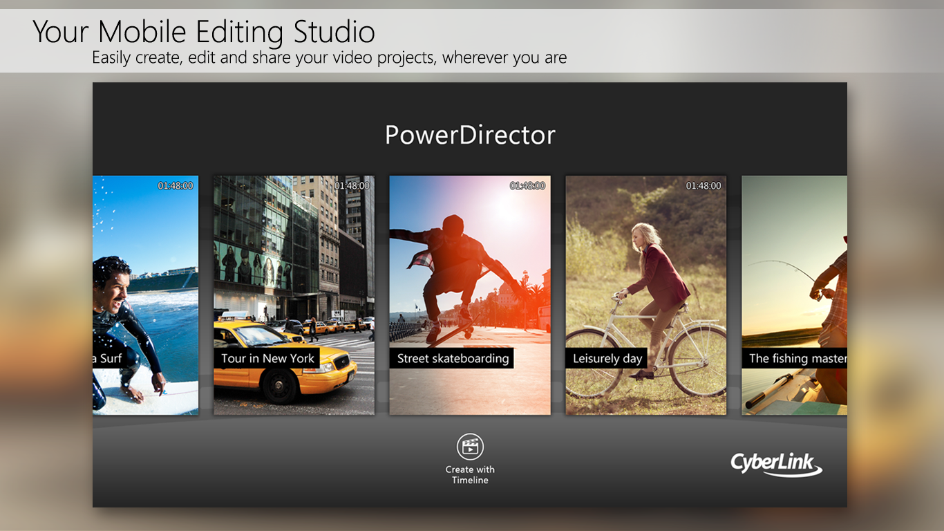 PowerDirector - Bundle Version- screenshot