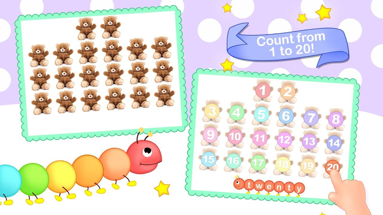 Toddler Counting 123 Kids Free- screenshot