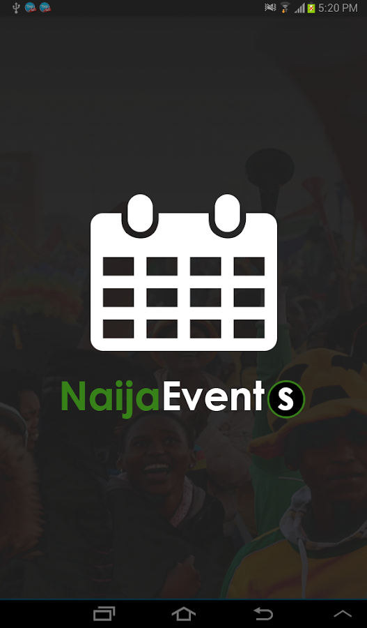 Naija Events- screenshot