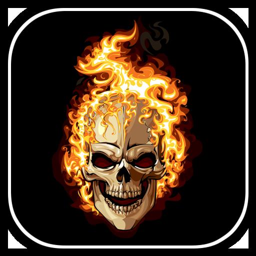 Skulls Live Wallpaper file APK for Gaming PC/PS3/PS4 Smart TV