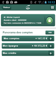 Groupama Banque Mobile - screenshot thumbnail