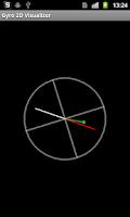 Screenshot of Gyro 2D Visualizer
