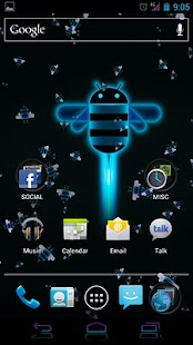 Live Wallpaper - Honeycomb LWP - screenshot thumbnail