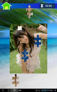 Sunshine Girls Puzzle - screenshot thumbnail